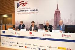 Más de cien empresas profundizan en su conocimiento del mercado estadounidense en el Foro Empresarial Navarra-Estados Unidos