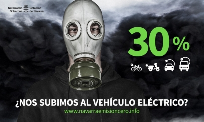 Navarra estrena hoy una potente campaña de promoción de la compra de vehículos eléctricos